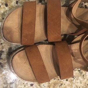f22cc1dcc7df Universal Thread Shoes - Women s Agnes Quarter Strap Espadrilles Sandals